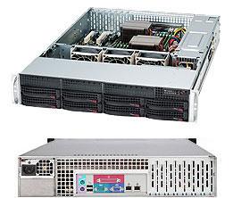 Supermicro CSE-825TQ-563\X10DRL-i\1xXeon E5 2620v4\32GB DDR4 ECC\6x300GB HDD SAS\RAID 9260+BBU\2xGLAN\600W