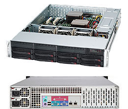 Supermicro CSE-825TQC-R740\X10DRL-i\2xXeon E5 2609v4\32GB DDR4 ECC\4x300GB HDD SAS\RAID 9260\2xGLAN\2x740W