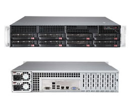 CSE-825TQC-R740LPB/X10DRL-C/Dual Xeon E5-2620v4/128GB RAM DDR4 ECC/2×480 SSD Kingston/2xSSD Intel S4500/2x1TB SAS3 HDD/LSI3108 with 2GB/4xGLAN/740W HS