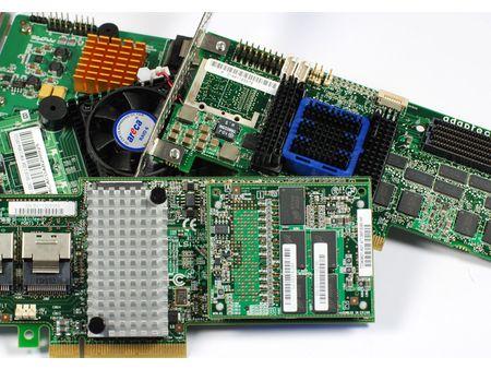 Контроллеры (RAID, HBA, Ethernet, FC и др.)