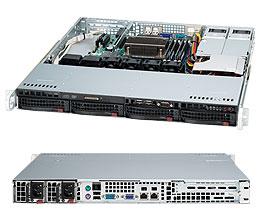 Supermicro CSE-813MF2TQC-R407\X11DPL-i\Intel Xeon 4208\16GB DDR4 ECC\2x240GB SSD Intel S4510\2xGLAN\2x400W